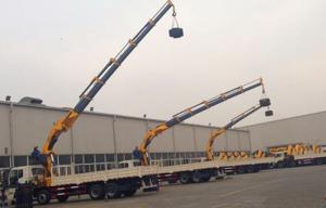 China Professional 20 T Truck Mounted Crane telescopic boom high tensile carbon steel on sale
