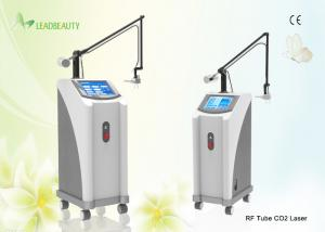China 0.1mm Spot size Skin tightening CO2 Fractional Laser Machine 1 - 100 ms Pulse width on sale