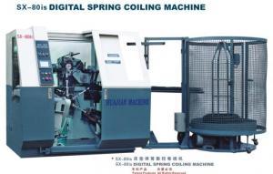 China SX-80isデジタルのばねの巻く機械 on sale