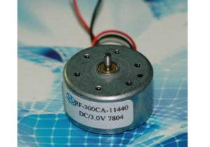 China universal DC electric motor RF-300 CA Speed 4000 r/min 0.7 - 5.0V on sale