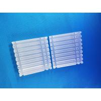 China Industrial Grade Fused Silica Plate , Uv Fused Silica Clear Polished Chemical Stable on sale