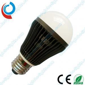 China 120v, 210v, 240v 7W E27 / E26 5630 SMD LED light Bulbs Light with Fin - Shaped on sale