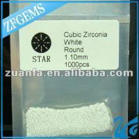 1.1mm 8 heart 8 arrow zircon stone manufacturer