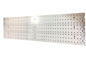 China 2 Layer Aluminum Core LED PCB Board 70um Copper RoHS TS16949 Certificate on sale
