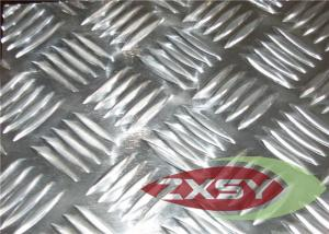 China Clean Checkered 1050 Aluminium Plate , Aluminium Diamond Plate on sale