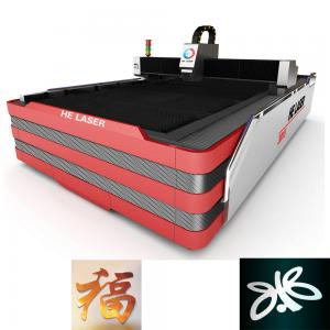 China 1000W HE Fiber Laser Cutting Machine , Laser Sheet Metal Cutting Machine on sale
