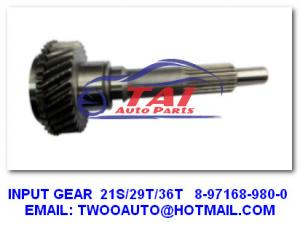 China 21S/29T/36T 8-97168-980-0 Heavy Duty Truck Parts 4BE1/4HF1/4BD1 MXA5R Transmission Gear on sale