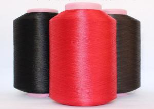 China Bright Black / Red Industrial Nylon6 FDY Yarn High Tenacity 100D To 6000D on sale