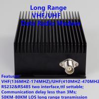long range transceiver 433 uhf 150 vhf maritime radio modem rs485&rs232 transmitter receiver wireless radio communicatio