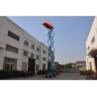 11m Manual Pushing Mobile Scissor Lift  Loading 450kg