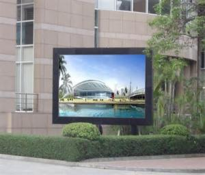 China Low voltage outdoor advertising vivid led Video display with synchronized Control on sale