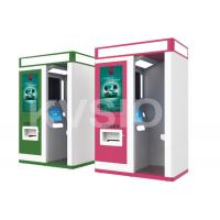 China Interactive Touch Screen Kiosk Photo Booth , Payment Kiosk System Powder Coating on sale