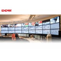 China 9 screen video wall round lcd video wall 178 x 178 Viewing Angle 5ms Response Time on sale