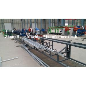China 380v PLC Automatic Stud And Track Roll Forming Machine For C / U profile on sale