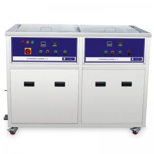 China 2 tanks Multi Frequency Ultrasonic Cleaner ultrasonic cleaning machine for Turbochargers on sale