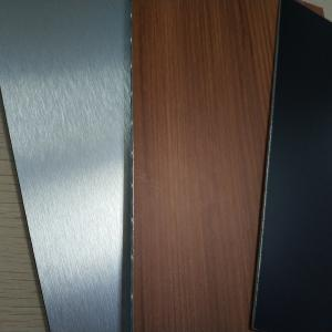 China 304 316 Brushed Embossed Stainless Steel Plastic Composite Panels , Composite Metal Panel on sale