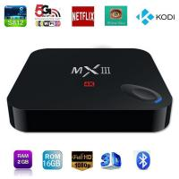Updated MX3 MXIII Android tv box S812 Quad core 2G/8G Kodi Loaded Dual Wifi Media Player