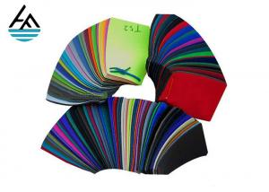 China 5mm Closed Cell Neoprene Sheet Double Sides Fabric Textile Width 1.3m Thickness on sale