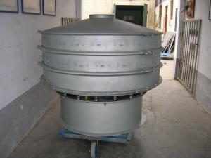 China 振動によってカスタマイズされる電源が付いている機械をふるう自動タピオカの小麦粉 on sale