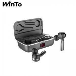 China Bluetooth Headphone 2600mAh Charging Box,Wireless Wireless Stereo Earbuds Battery Monitor on sale