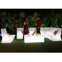 Contemporary 16 Colors RGB LED Outdoor Sofa Lounge for Beer Bar