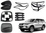 TOYOTA Fortuner 2016 2018 Replacement Auto Body Parts Black And Chrome Color