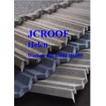 Stone Coated Roofing Sheet Modern classical tile 1290*370*0.4 mm Install Size