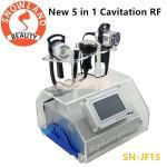 Portable 5 in 1 RF Skin Tightening Cavitation Ultrasonic Vacuum RF Bio Slimming Beauty Machine