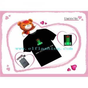 China EL T-Shirt , EL FLASH TSHIRT, EL Sound Activated T-shirt , EL Panel , EL on sale