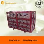 China High Cr Steel End Liner Castings HRC43-52 Hardness Abrasion Resistance wholesale