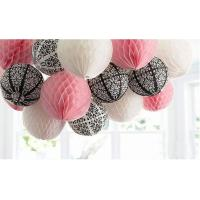 Colours Craft Paper Honeycomb Ball for Home Birthday Party Decoration