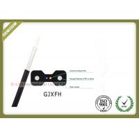 GJXFH FTTH 2 Core Indoor Fiber Optic Drop Cable for home cabling system