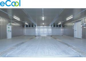 China Steel Structure Cold Storage PU Panel Assembling For Frozen Vegetables And Fruits on sale