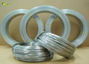 China 3mm Heavy Duty Zinc Coating Oval High Carbon Iron Gi Galvanized Steel Wire on sale
