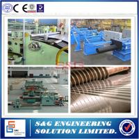 Steel Coil Slitting Process Sheet Metal Slitter Machine 500 ~ 1500mm Strip Width
