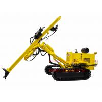 Crawler Hydraulic DTH Rock Blasting Drilling Rig , Borehole Drilling Equipment CM358A