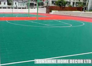 China Polypropylene Indoor Flat Sports Flooring For Futsal / Basketball / Volleyball Court Multi-sports Floor Outdoor on sale