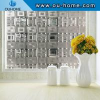 China BT14706 Square design office frosted glass window film on sale