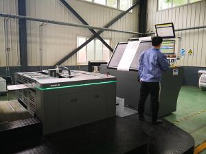 China Roll To Roll Offset Printing Press Machine , 5 Colour Offset Printing Machine on sale