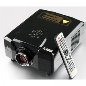 China home theater led projector with digital TV built in & 2200 lumens & high resolution for home use on sale