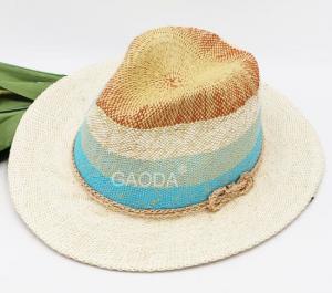 e9e3a27b58bdd ... Quality Custom new ladies England hat jazz hat hand-woven paper straw  hat big along ...