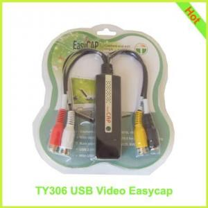 China TY306: USB Video EasyCap USB 2.0 Video Adapter with Audio on sale
