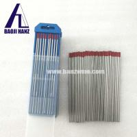 Dia 3mm 2% throiated tungsten electrode for welding red marked