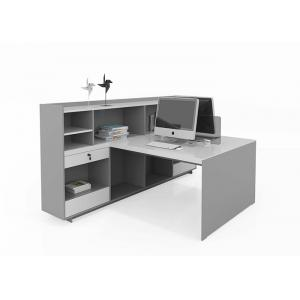 China Durable Panel Modern 2 Person Workstation For  Staff Working Anti Scratch on sale