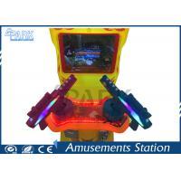 China Indoor 100W Shooting Games For Kids / Gun Arcade Machine 2 Player 4 Scenes on sale