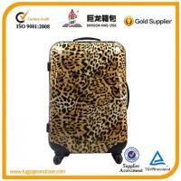 Trolley luggage with wheels
