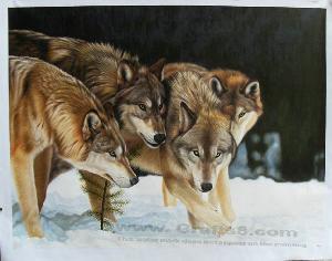 China Animal Oil Paintings -Animal Painting on sale
