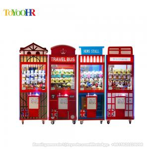 China Coin Operated Popular England Style Toy Vending Game Machine Claw Crane Machine on sale