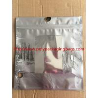 Customized Made Poly Underwear Plastic Bag With Hanger Hook 3 Colors Gravure Printing
