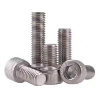 China M8 Plain 12.9 Stainless Steel Hexagon Socket Head Cap Screw DIN912 0.6mm ~ 300mm on sale